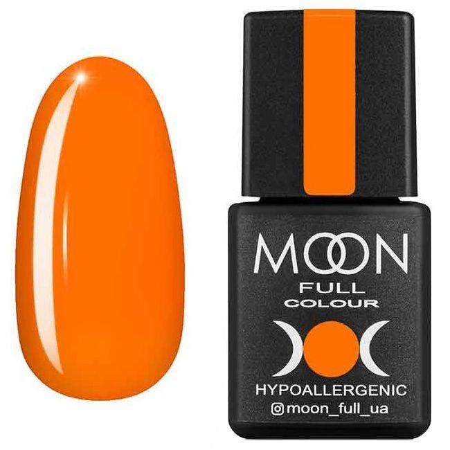 Гель лак Moon Full Neon №704* (оранжевый, эмаль) 8 мл