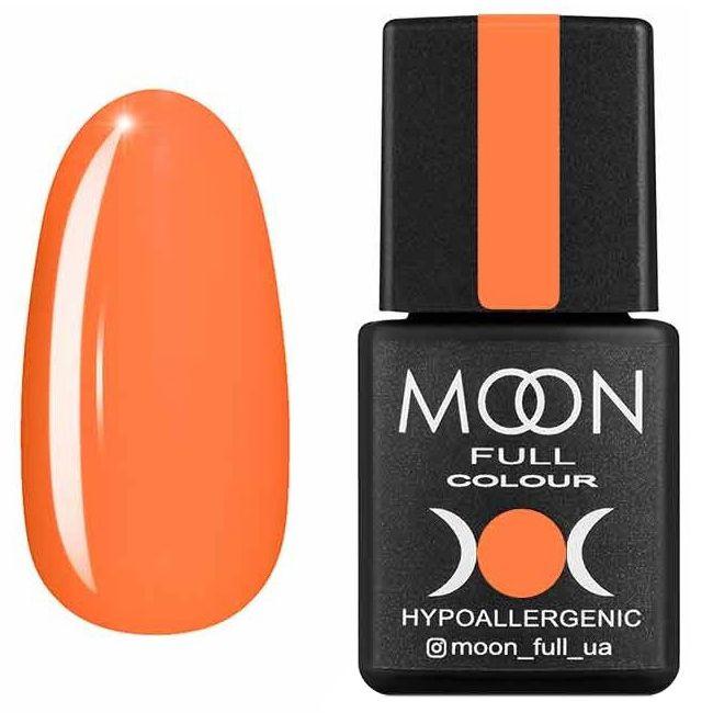 Гель лак Moon Full Neon №705* (лососевый, эмаль) 8 мл