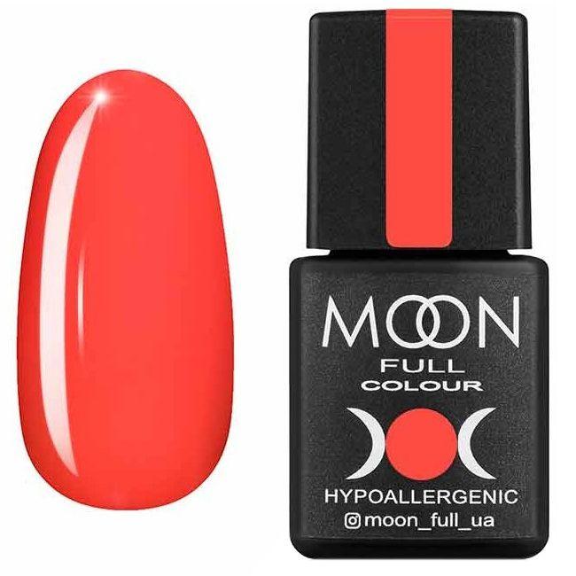 Гель лак Moon Full Neon №706* (коралловый, эмаль) 8 мл