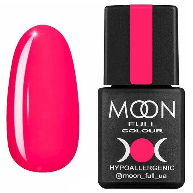 Гель лак Moon Full Neon №709* (розовый насыщенный, эмаль) 8 мл