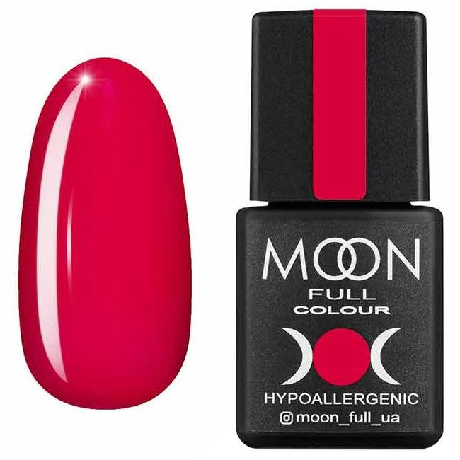 Гель лак Moon Full Neon №710* (темная фуксия, эмаль) 8 мл