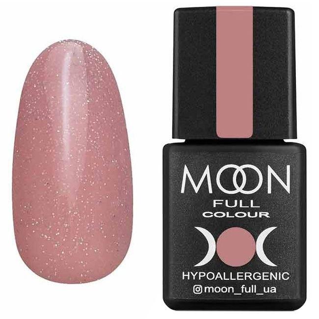 Гель-лак Moon Full Opal Color №505* (бежево-сиреневый с разноцветным шиммером) 8 мл