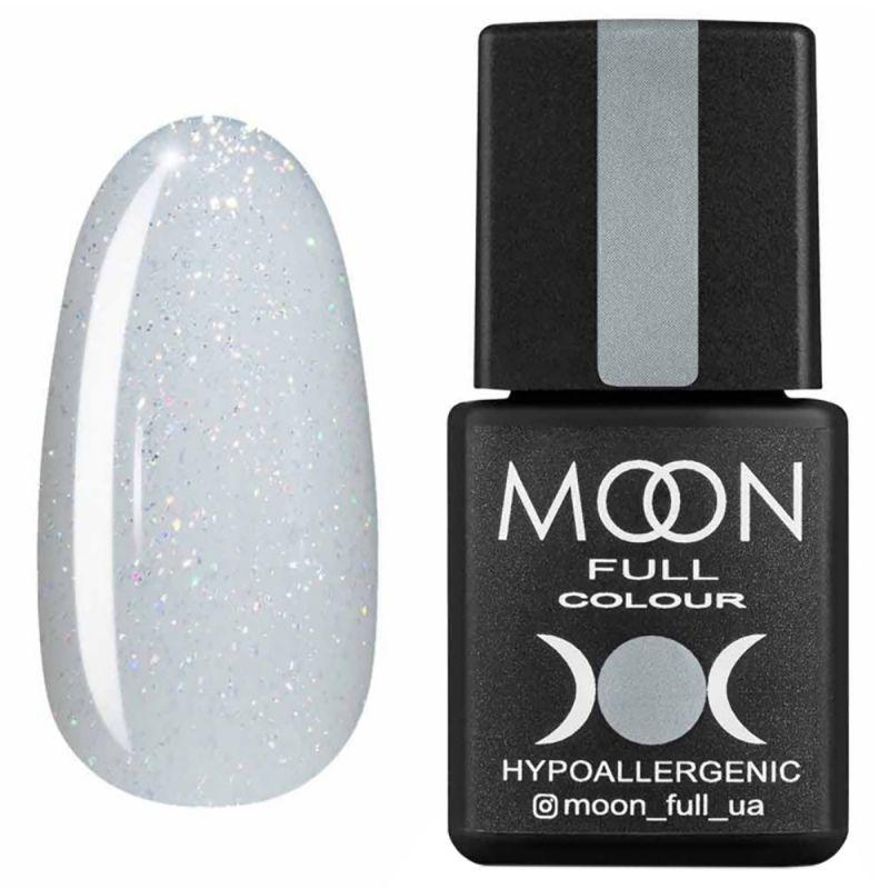 Гель-лак Moon Full Opal Color №507 (полупрозрачный с золотистым шиммером) 8 мл