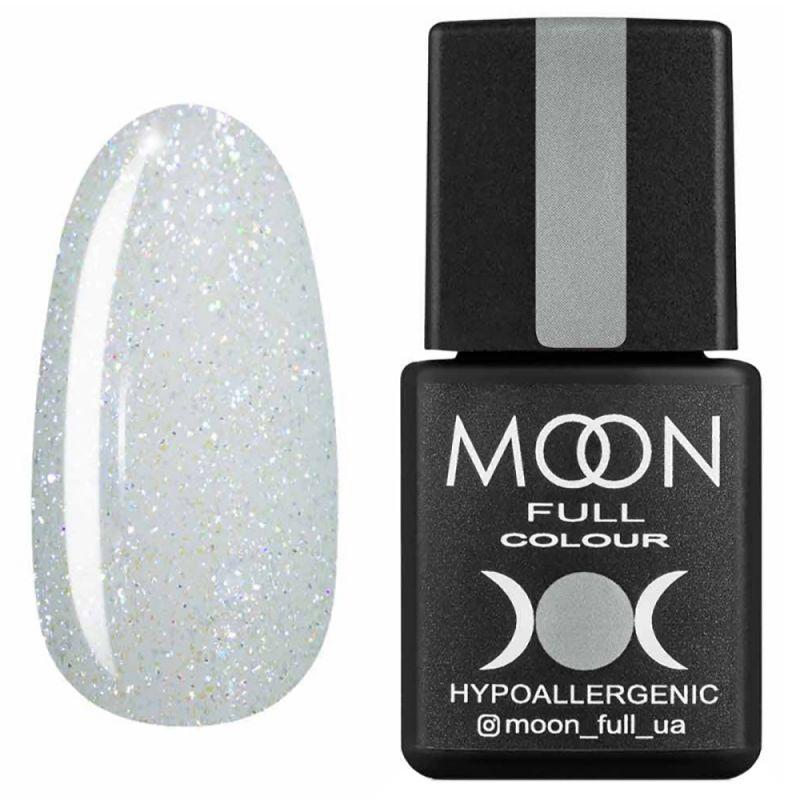 Гель-лак Moon Full Opal Color №508 (полупрозрачный с разноцветным шиммером) 8 мл