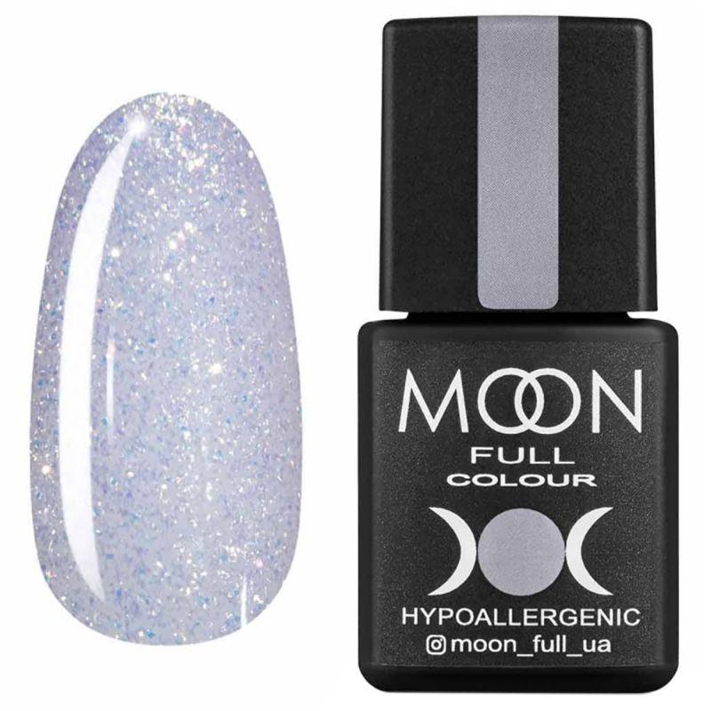Гель-лак Moon Full Opal Color №509 (светло-сиреневый с разноцветным шиммером) 8 мл