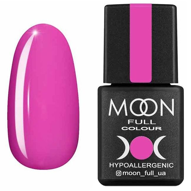 Гель лак Moon Full Summer 2020 №607* (фуксия, эмаль) 8 мл