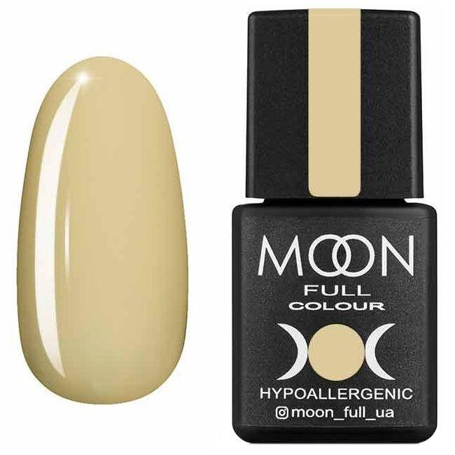 Гель лак Moon Full Summer 2020 №608 (молочно-горчичный светлый, эмаль) 8 мл