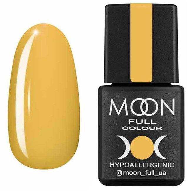 Гель лак Moon Full Summer 2020 №610 (желтый карри, эмаль) 8 мл