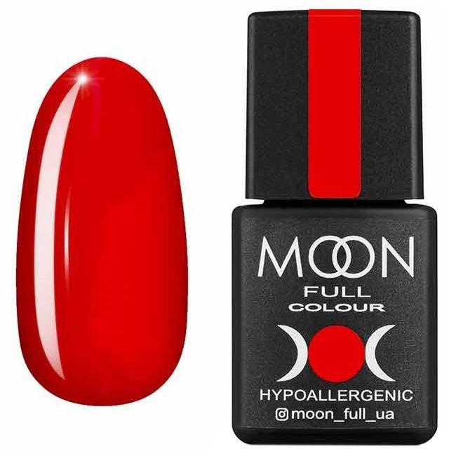 Гель лак Moon Full Summer 2020 №617* (классический красный, эмаль) 8 мл
