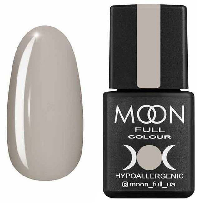 Гель лак Moon Full Summer 2020 №623 (серовато-бежевый, эмаль) 8 мл