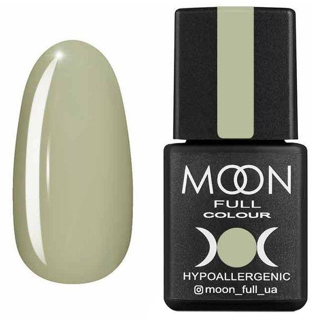 Гель лак Moon Full Summer 2020 №624* (нежный оливковый, эмаль) 8 мл