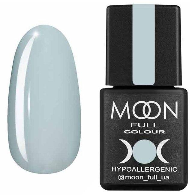 Гель лак Moon Full Summer 2020 №627 (бело-голубой, эмаль) 8 мл
