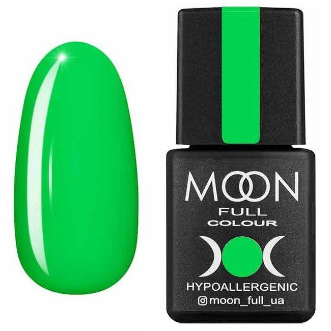 Гель лак Moon Full Summer 2020 №633 (ярко-зеленый, эмаль) 8 мл