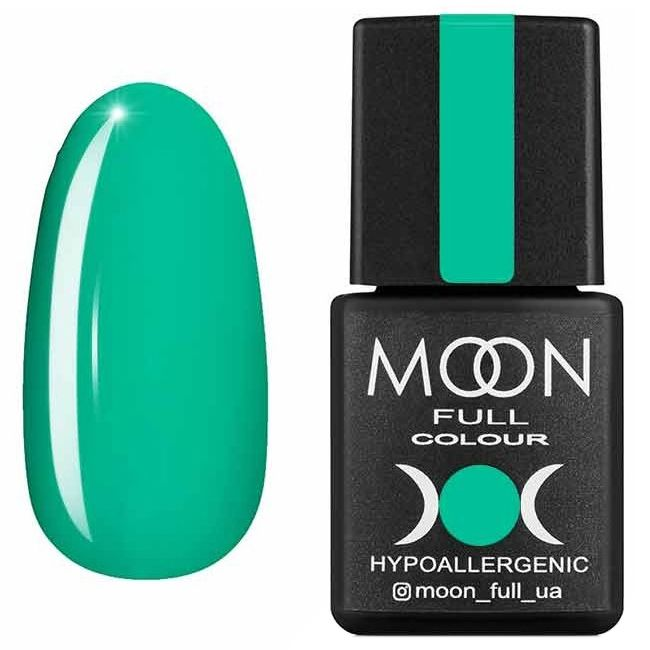Гель лак Moon Full Summer 2020 №634* (изумрудный светлый, эмаль) 8 мл