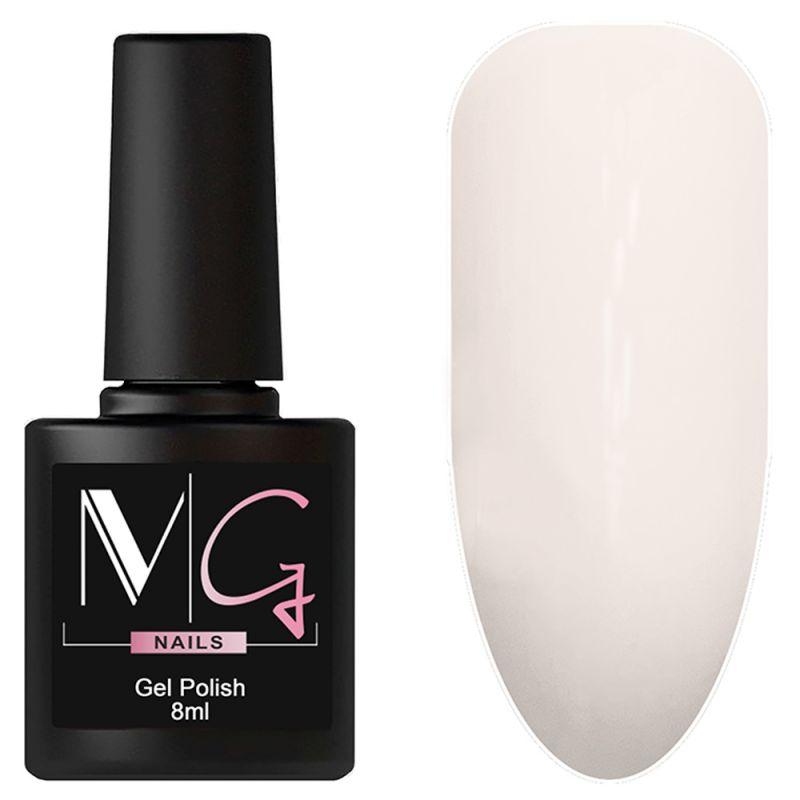 Гель-лак MG №004 Dawn Pink (нежно-розовый рассвет, эмаль) 8 мл