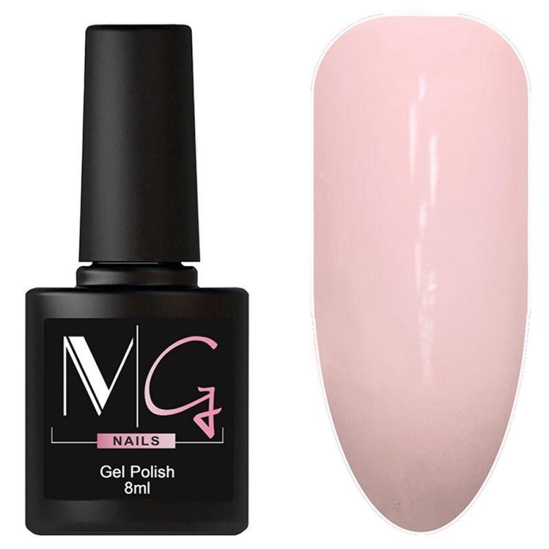 Гель-лак MG №005 Pale Rose (бледно-розовый, эмаль) 8 мл
