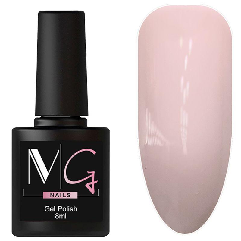 Гель-лак MG №006 Pink Candy (бледно-розовый, эмаль) 8 мл