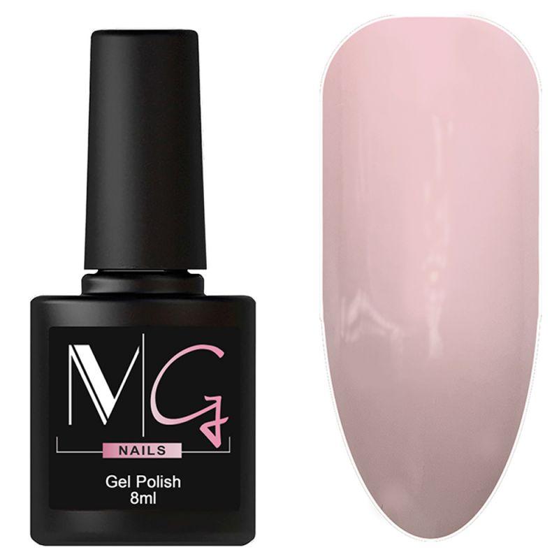 Гель-лак MG №007 Rose (розовый, эмаль) 8 мл