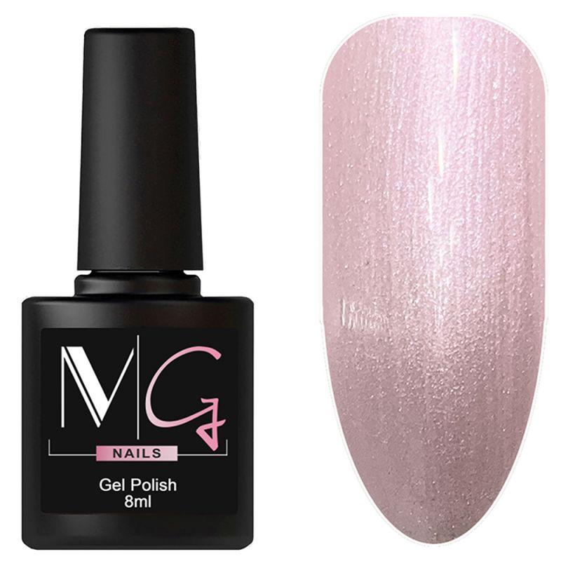 Гель-лак MG №008 Pearl Pink (жемчужно-розовый с микроблеском) 8 мл