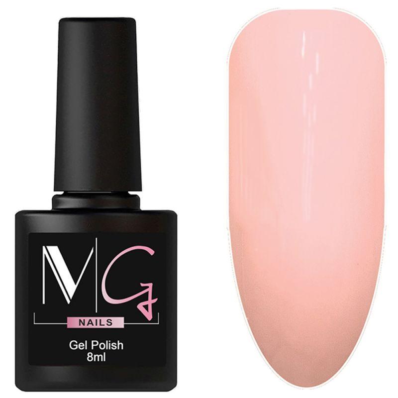 Гель-лак MG №018 Sweety Pink (нежно-розовый, эмаль) 8 мл