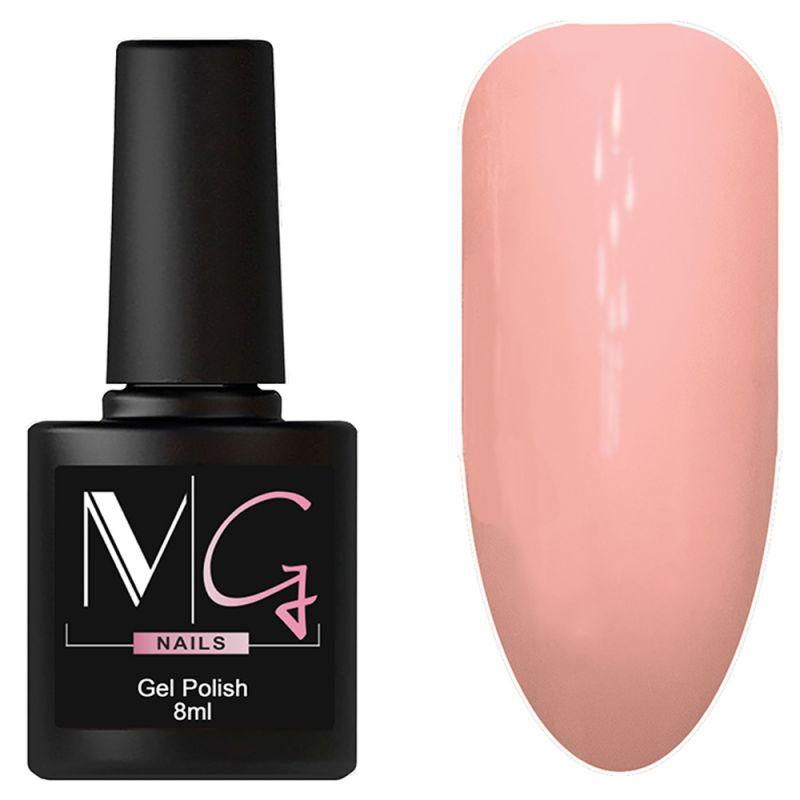 Гель-лак MG №019 Deep Blush (персиковый, эмаль) 8 мл