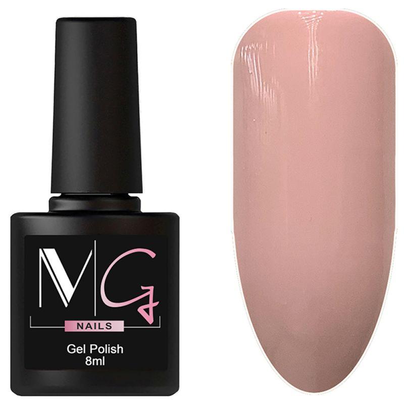 Гель-лак MG №027 Pink Tree (бледно-каштановый, эмаль) 8 мл