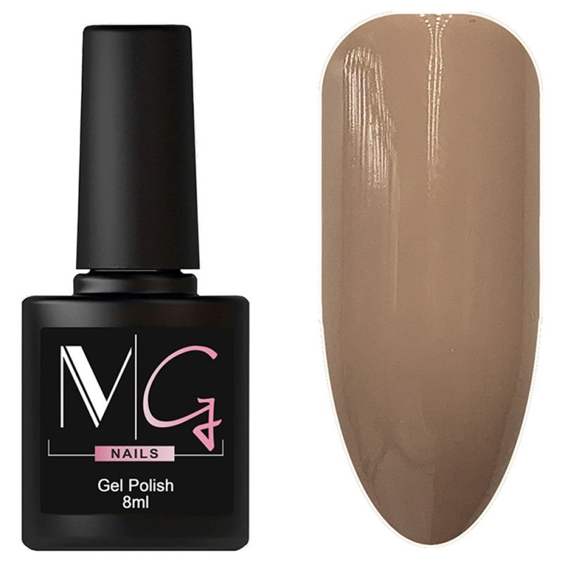 Гель-лак MG №029 Nutmeg (бледно-коричневый, эмаль) 8 мл
