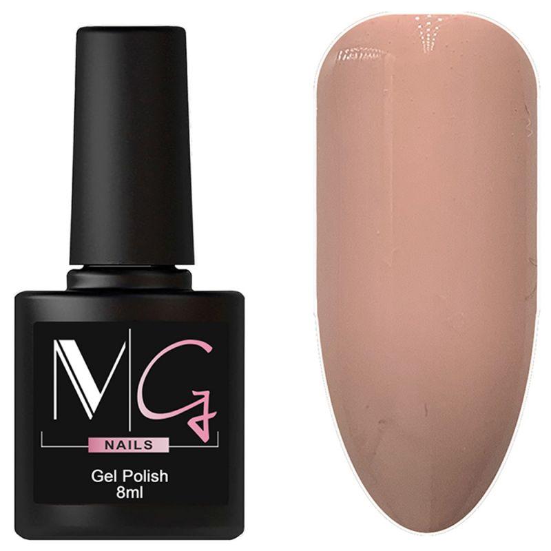 Гель-лак MG №035 Misty Rose (туманно-розовый, эмаль) 8 мл