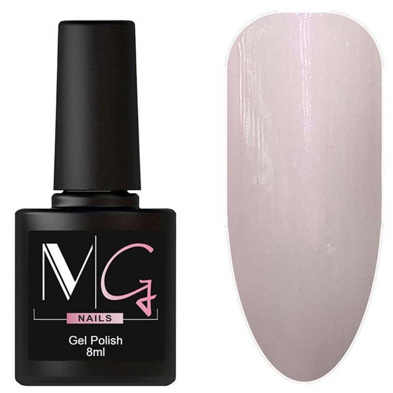 Гель-лак MG №043 Pearl Pink (жемчужно-розовый с микроблеском) 8 мл