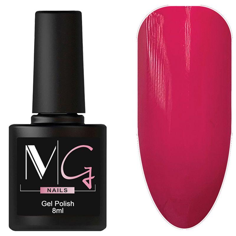 Гель-лак MG №055 Pale Magenta (розовая фуксия, эмаль) 8 мл