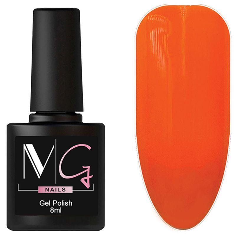 Гель-лак MG №060 (морковно-апельсиновый, эмаль) 8 мл
