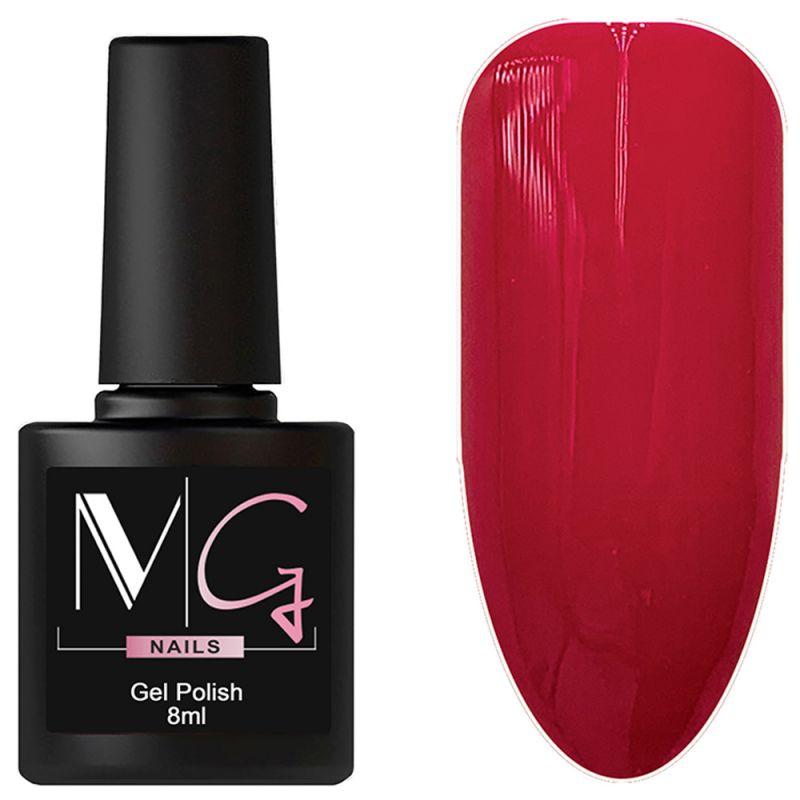 Гель-лак MG №075 Lingonberry (брусничный, эмаль) 8 мл