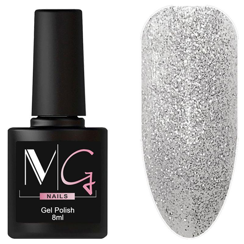 Гель-лак MG №081 Sparkle Diamonds (прозрачный с блестками) 8 мл