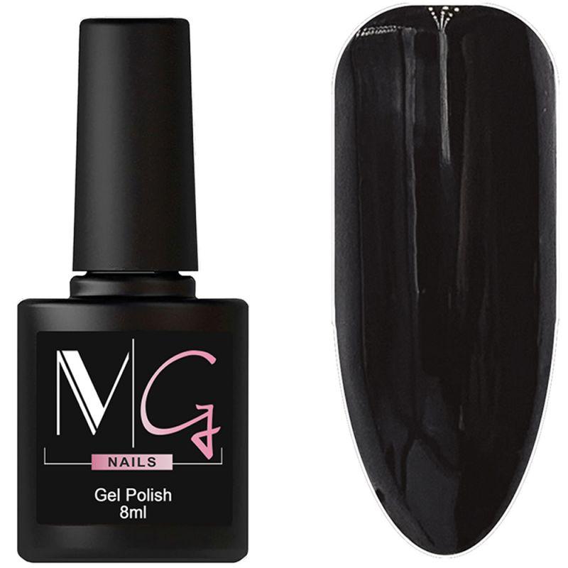 Гель-лак MG №099 Black (черный, эмаль) 8 мл