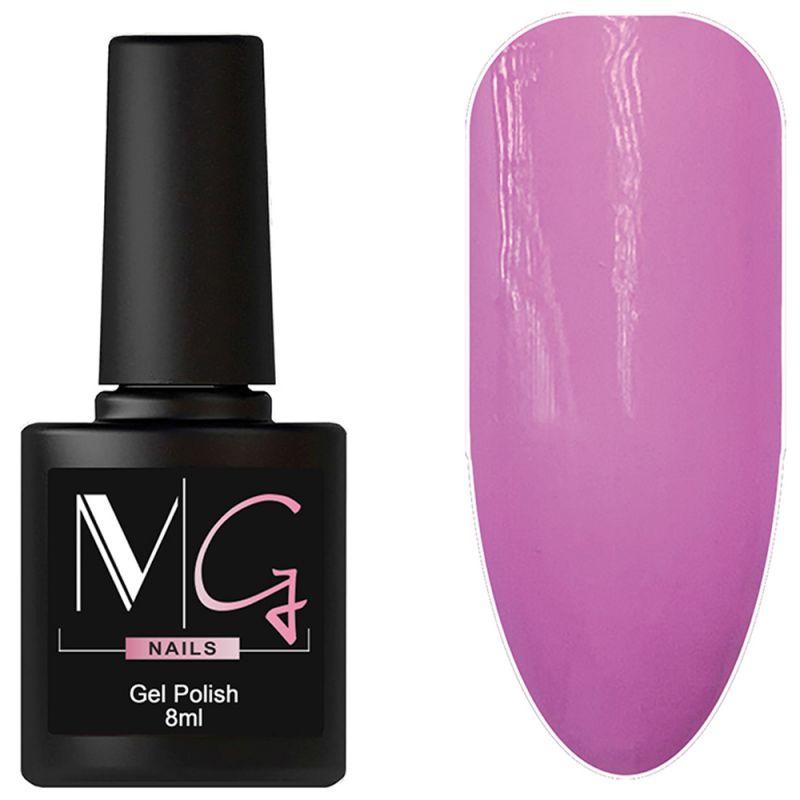 Гель-лак MG №101 Lavender (приглушенно-розовый, эмаль) 8 мл