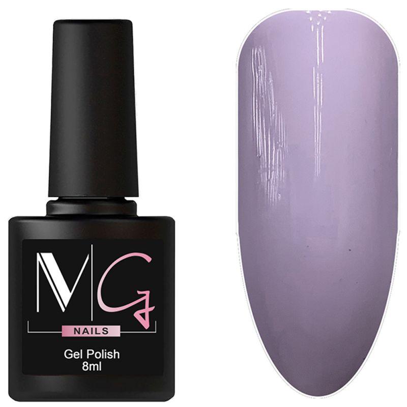 Гель-лак MG №113 (пастельно-фиолетовый, эмаль) 8 мл
