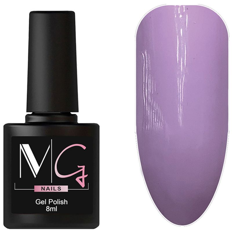 Гель-лак MG №114 (светло-фиолетовый, эмаль) 8 мл