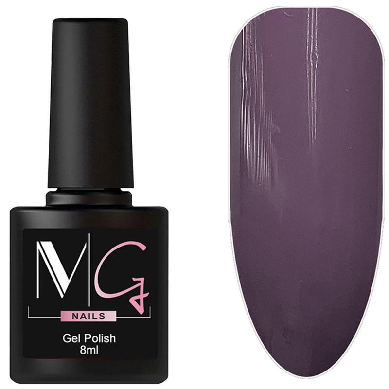 Гель-лак MG №117 Ash Violet (серо-сливовый, эмаль) 8 мл