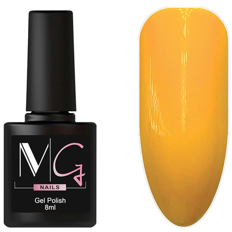 Гель-лак MG №141 Selective Yellow (насыщенно-желтый, эмаль) 8 мл
