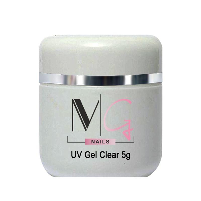Гель строительный MG UV Gel Clear (прозрачный) 5 мл