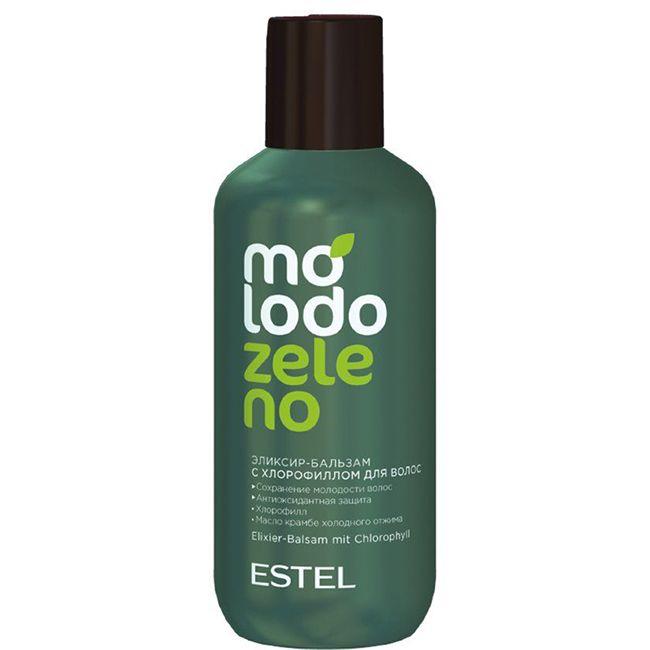 Бальзам-эликсир для волос с хлорофилом Estel Molodo Zeleno 200 мл