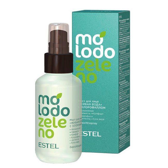 Мист для лица с хлорофиллом Estel Molodo Zeleno 100 мл