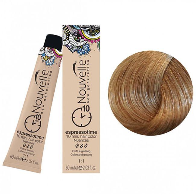 Крем-краска для волос Nouvelle Espressotime 9.71 (светлый холодный блондин) 60 мл