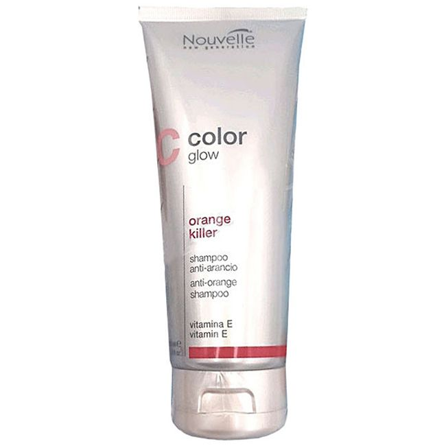 Шампунь против желтизны волос Nouvelle Orange Killer Shampoo 200мл