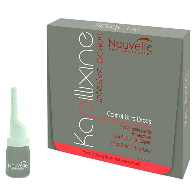 Средство против выпадения волос Nouvelle Ultra Drops (с экстрактом красного женьшеня) 1х7 мл