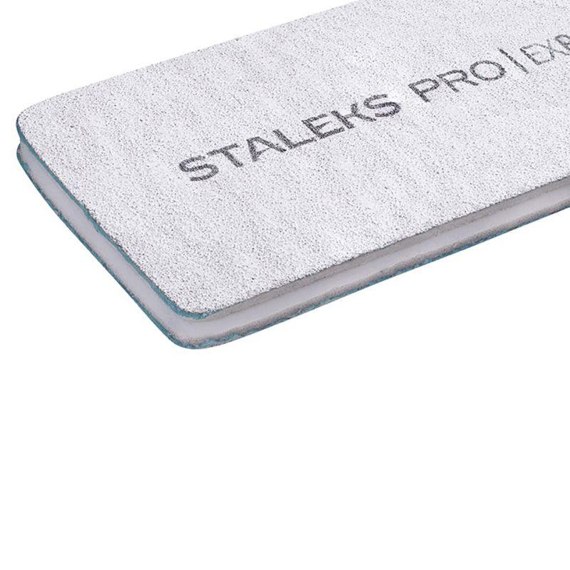 Пилка для ногтей Staleks Pro Expert (прямая, широкая, 100/180 грит)