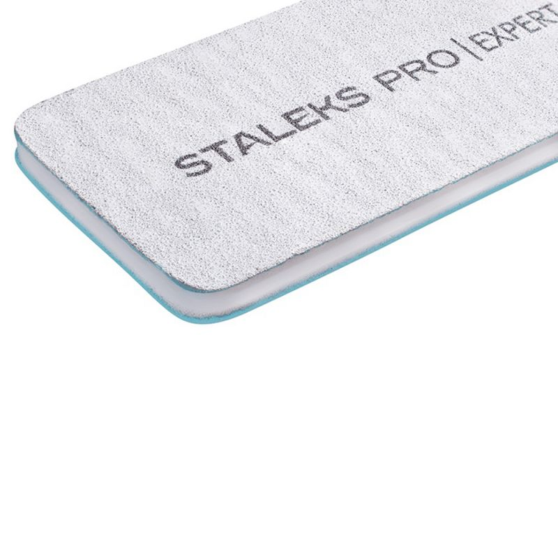 Пилка для ногтей Staleks Pro Expert (прямая,  широкая, 180/240 грит)