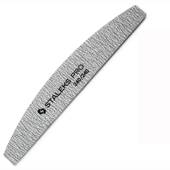 Пилки для ногтей минеральные Staleks Pro NFB-41/7 (240/240 грит) (5 штук)