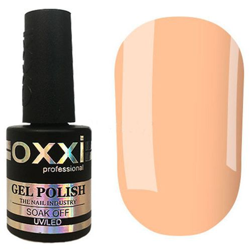 Гель-лак Oxxi №072 (светлый персиковый, эмаль) 10 мл