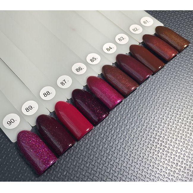 Гель-лак Oxxi №083 (красно-коричневый, эмаль) 10 мл